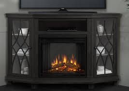 real flame lynette corner electric fireplace tv stand u0026 reviews