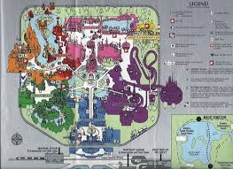 magic kingdom disney map a look back at the disney magic kingdom of 1996