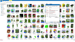 Meme Folder - my folder of 569 pepes 75 megabytes worth dankmemes