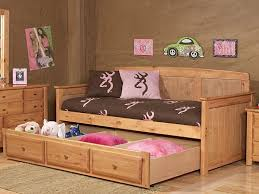 Full Size Beds With Trundle Bedroom Gorgeous Latte Daybed With Drawers For Bedroom Ideas