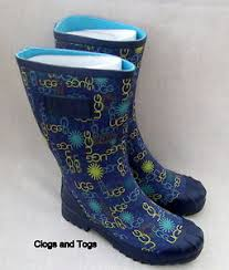 womens wellington boots australia ugg australia multi logo womens blue wellies wellington