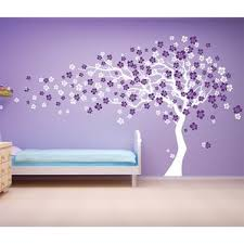 trees and flower wall decals you ll wayfair