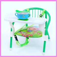 siege auto pliant portable pliant réglable isofix bretelles bébé enfant à manger