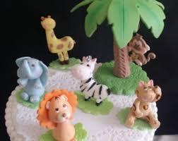 jungle cake topper jungle baby shower safari baby shower safari