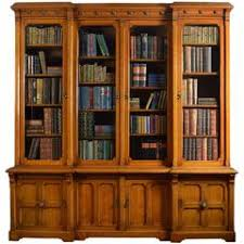 Stickley Bookcase Gustav Stickley Oak And Glass Double Door Bookcase At 1stdibs