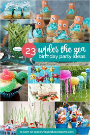 birthday ideas 23 enchanting the sea party ideas spaceships and laser beams