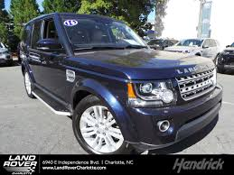 blue land rover discovery land rover charlotte vehicles for sale in charlotte nc 28227