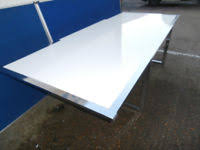 White Gloss Meeting Table Meeting Table In London Office Desks U0026 Tables For Sale Gumtree