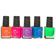 neon brights 5 pk nail polish set
