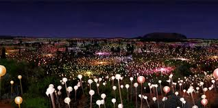 field of light uluru bruce munro field of light http www fieldoflight co uk