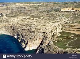 Azure Window by Dwejra Azure Window Area Aerial View Gozo Island Republic Of