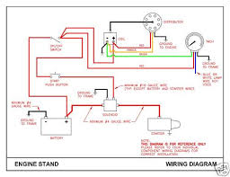 basic wiring for chevy test stand rod forum hotrodders