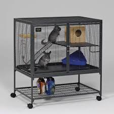 All Living Things Luxury Rat Pet Home by Midwest Critter Nation Animal Habitat With Stand Single Unit 36