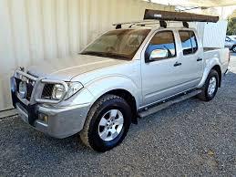 nissan navara 2003 automatic d40 nissan navara st x 2006 silver used vehicle sales