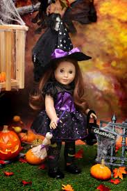 girls pumpkin halloween costume 141 best american doll halloween witches images on pinterest