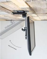 Drop Down Tv From Ceiling by Ceiling Mount Bracket For Tvs Height Adjustable Tv Mount Remote