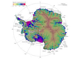 Map Direction Nasa Antarctic Ice Flows A Complete Picture