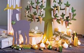 photo decoration table de noel simple joyeux nol avec nos ides de