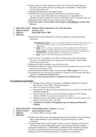 Private Chef Resume Chef Resumes Examples Resume Example And Free Resume Maker