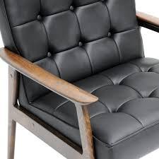 Amazon Com Baxton Studio Stratham Mid Century Modern Club Chair