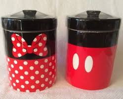Mickey Mouse Kitchen Set by Mickey Mouse Minnie Mouse Signature Kitchen Canister Set Disney