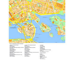 Stockholm Metro Map by Maps Of Stockholm Detailed Map Of Stockholm In English Tourist