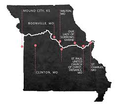 Map Of St Louis Mo Three Pilgrims Journey To Explore Where St Rose Philippine