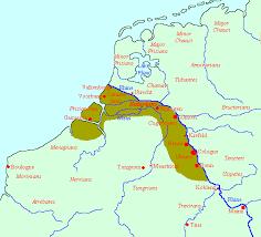germania map map of germania inferior livius