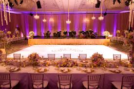 wedding reception perfect for a princess and her prince