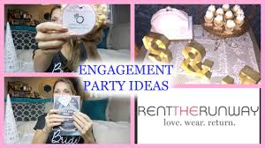 decorations for engagement party at home engagement party ideas youtube