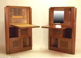 meubles art deco style paire d u0027 u0027encoignures art déco en acajou massif formant bar et