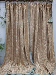 vintage paisley quilted curtains chateau by jacquelinemcewan