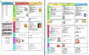 a kindergarten smorgasboard schedulin sunday week 2 the