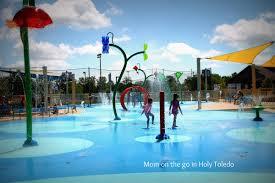 thorn park splash pad mom on the go in holy toledo