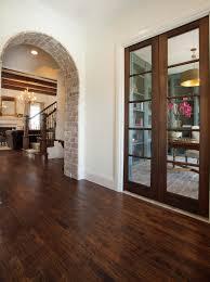 la cantera spanish hacienda exposed brick archway bannister