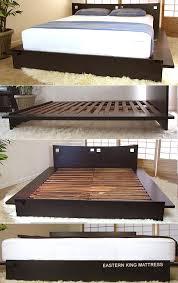 Floor Bed Frame Platform Beds Low Platform Beds Japanese Solid Wood Bed Frame