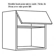 meuble de cuisine pour micro onde meuble haut pour micro onde ensatrable