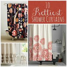 Beautiful Shower Curtains by Pretty Shower Curtains Home Made Modern