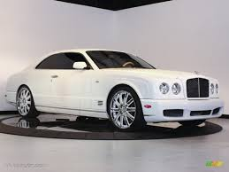 bentley white interior 2009 arctica white bentley brooklands 60805427 gtcarlot com