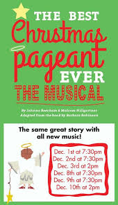 the opera house players present the best pageant