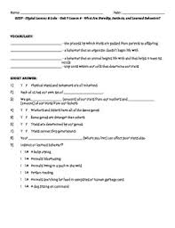 science fusion worksheets for unit 9 digital lesson grade 4 by