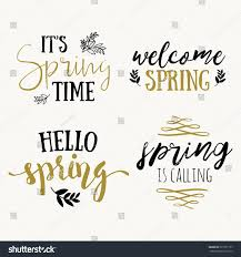 time lettering greeting cards set stock vector 561957157