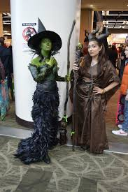 wicked witch west costume wicked witch of the west and maleficent cosplay at emerald city