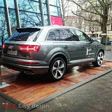 all audi q7 all audi q7 spotted in berlin displayed during festival