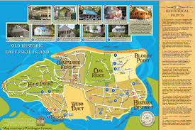 South Carolina Beaches Map Getting Around Daufuskie Island Daufuskie Island Sc