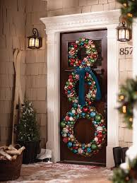 Home Decor For Christmas 10 Pretty Christmas Door Decorations Home Design Garden