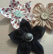 Fabric Flowers Fabric Flowers 5 Steps With Pictures
