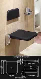 Fold Down Shower Bench Folding Shower Seats Up U0026 Fold Down Shower Seat Luxury