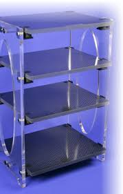 Audio Video Equipment Racks Composite Products High End Audio Video Carbon Fiber Stereo