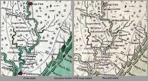 Map Of Carolinas Re Stating The 1770 Churton Collet Map Of North Carolina North